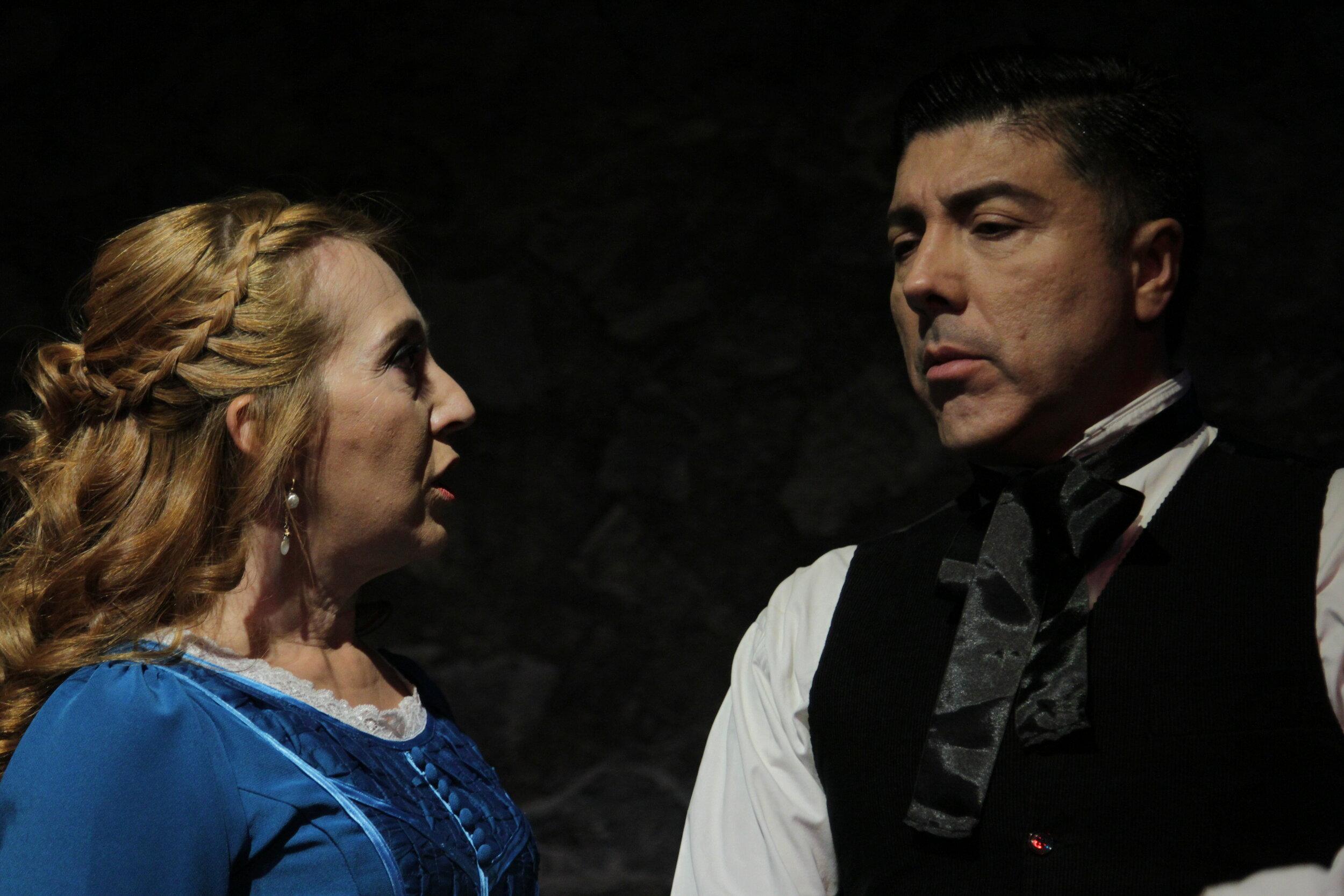 La señorita Julia.  Valentina Pacheco/ Manolo Morales.