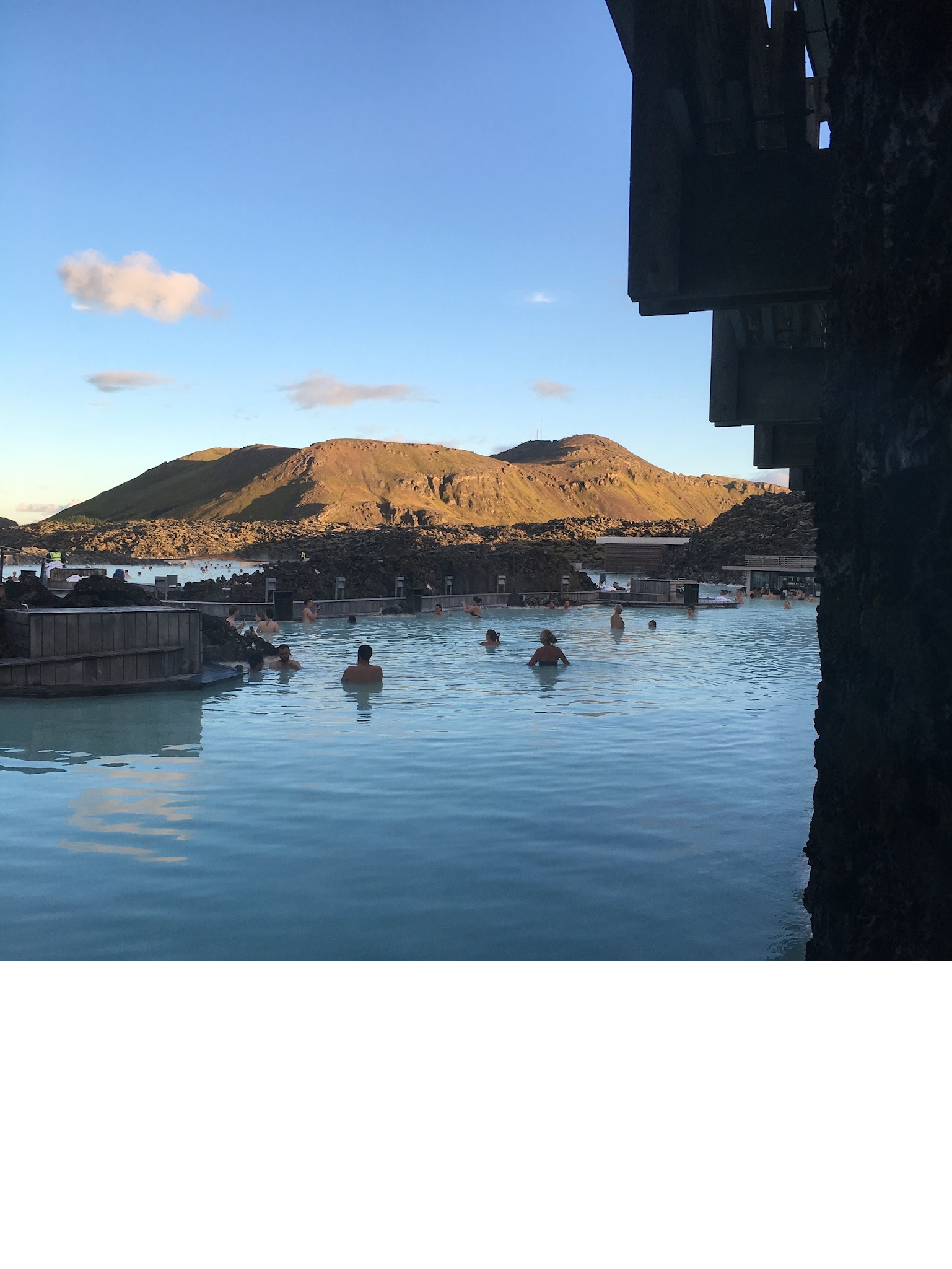If you've ever a chance to soak and relax at the Blue Lagoon, take full advantage. Remember to always book ahead as they will only see you based off the time slot you have, trust us we made the mistake the first day.