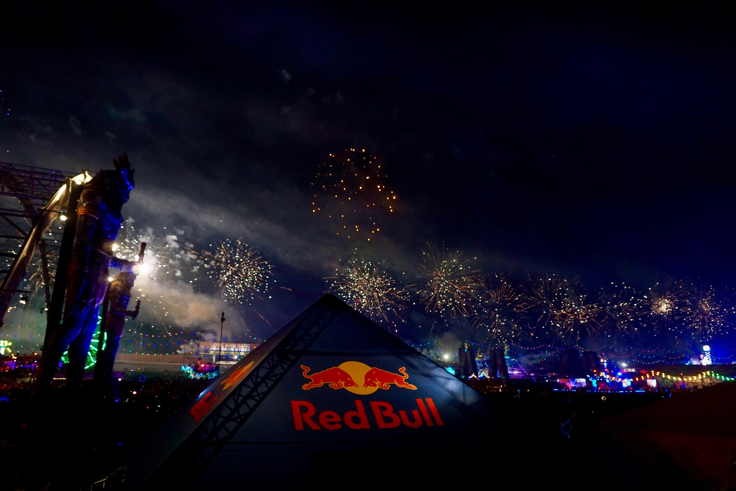 Redbull firework magic