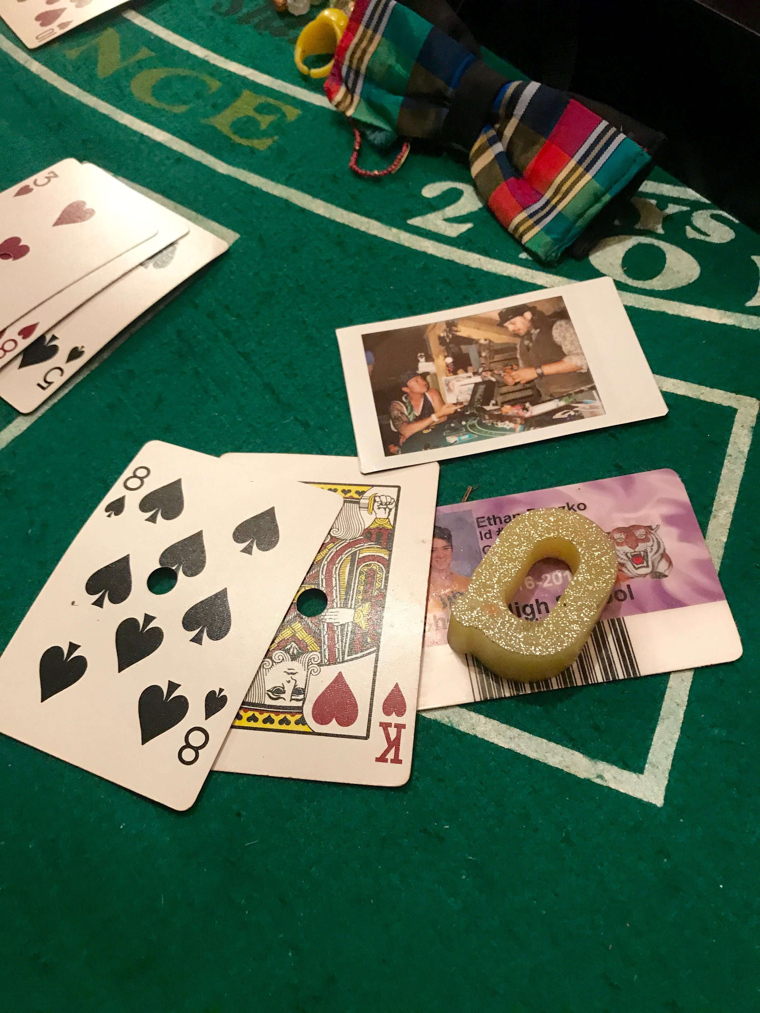 Of course we managed to find Blackjack...somehow