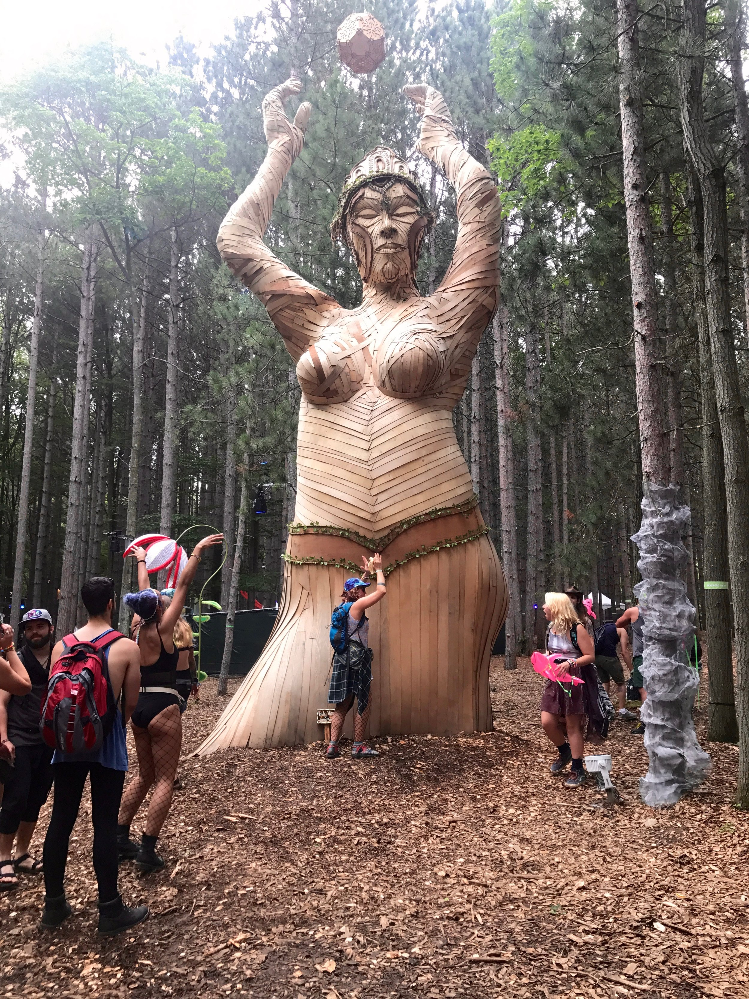 Mother of the Forest art installation