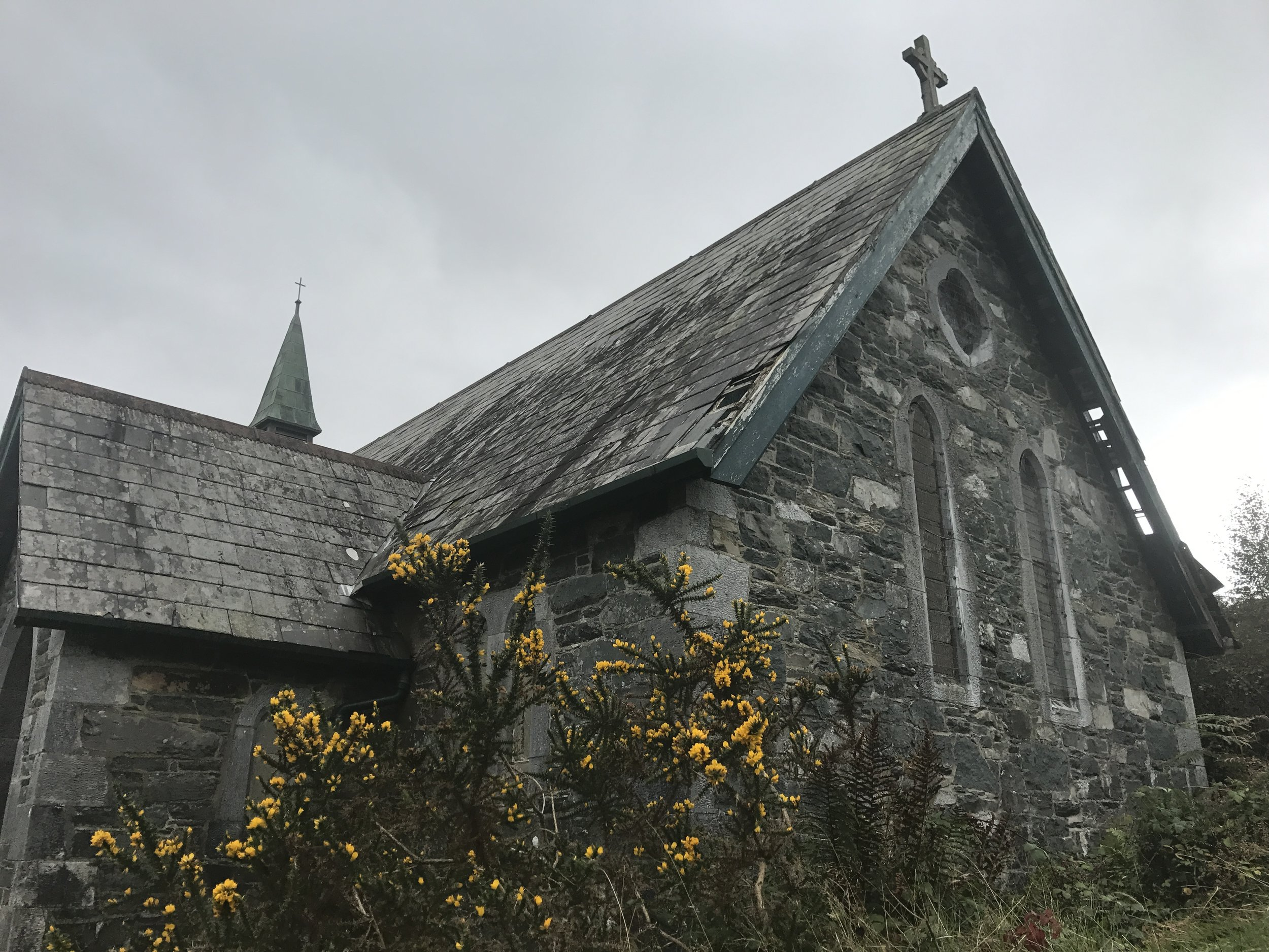 Abandoned Church on the Ring of Kerry