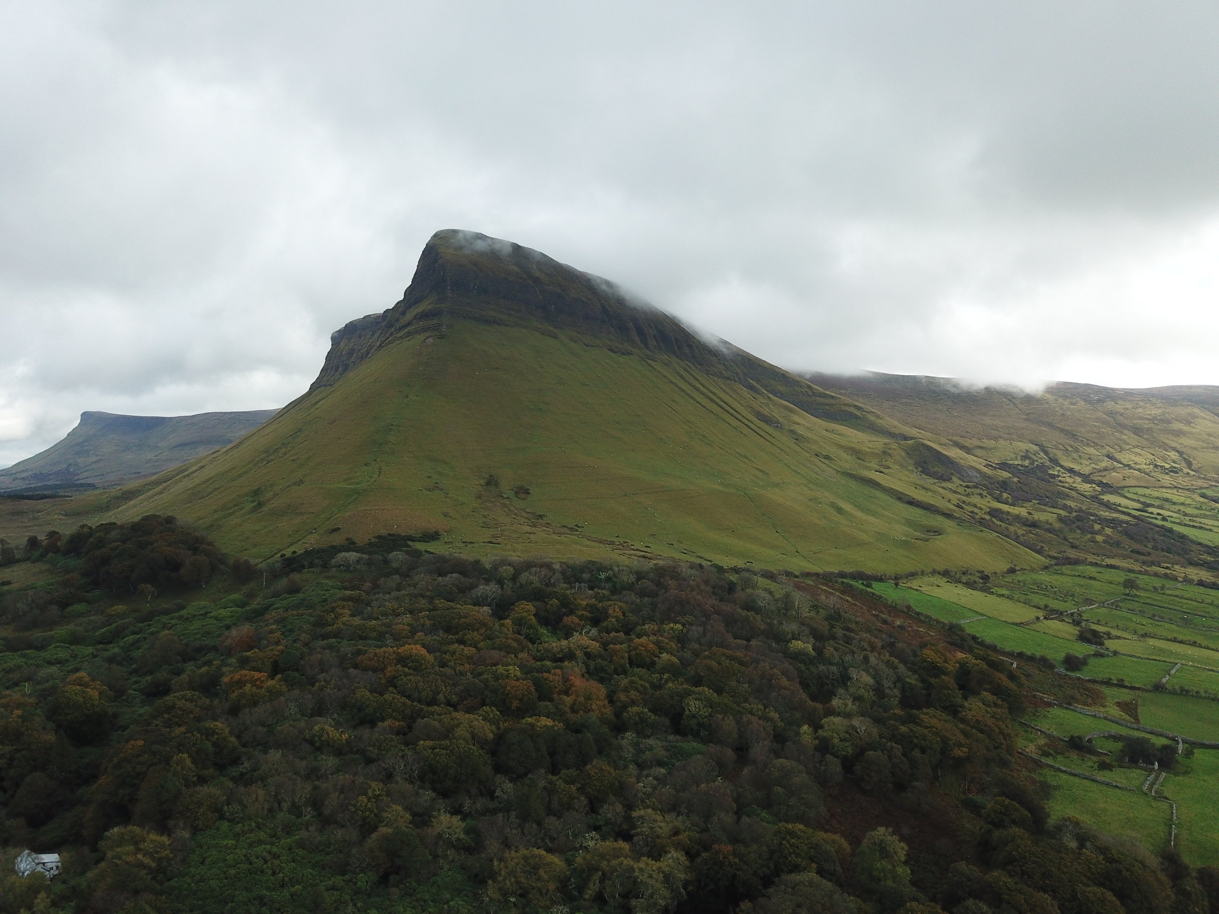 The Benbulben is a sight to see in Sligo, Ireland.