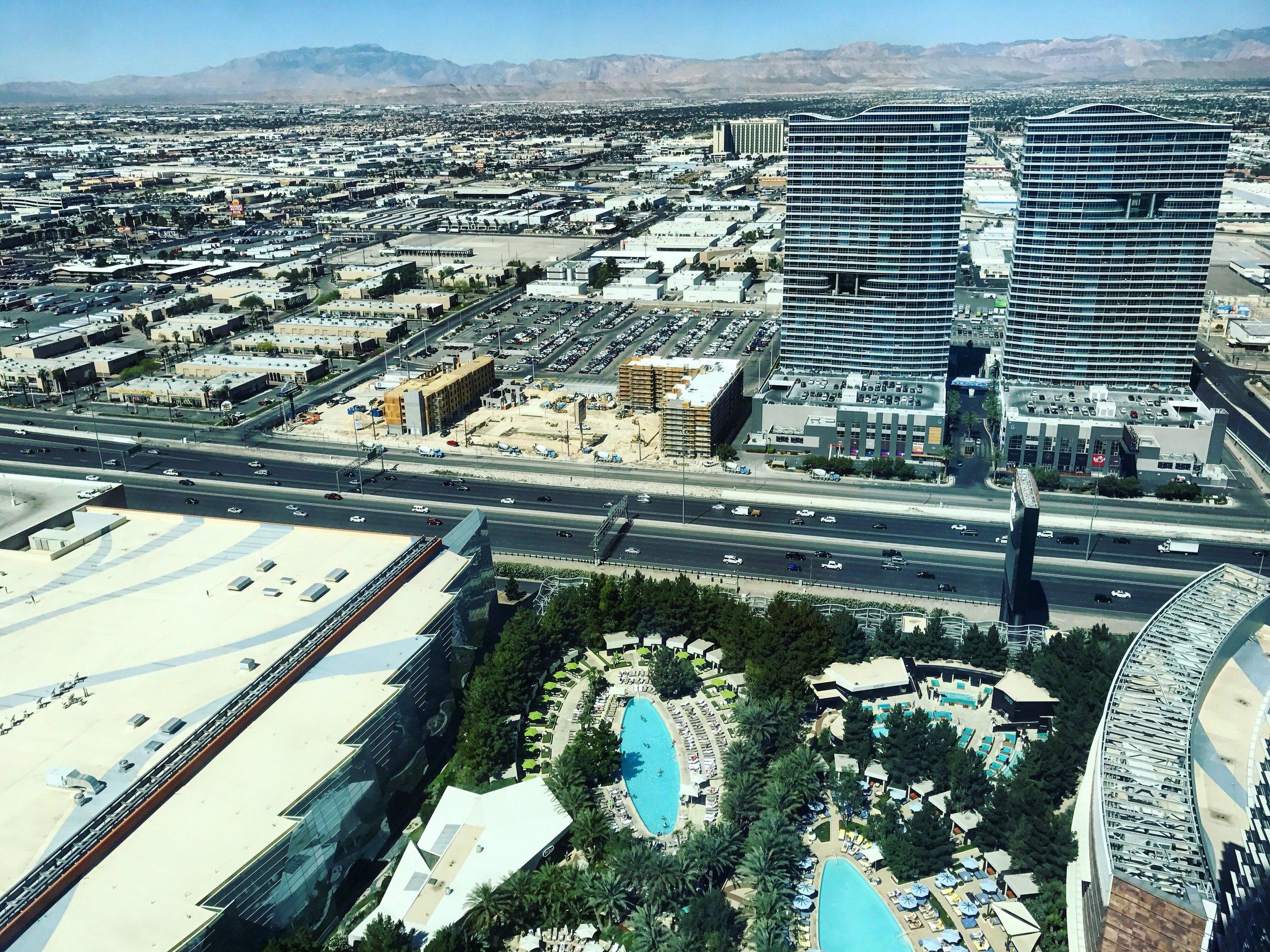 Aria Sky Pool Las Vegas