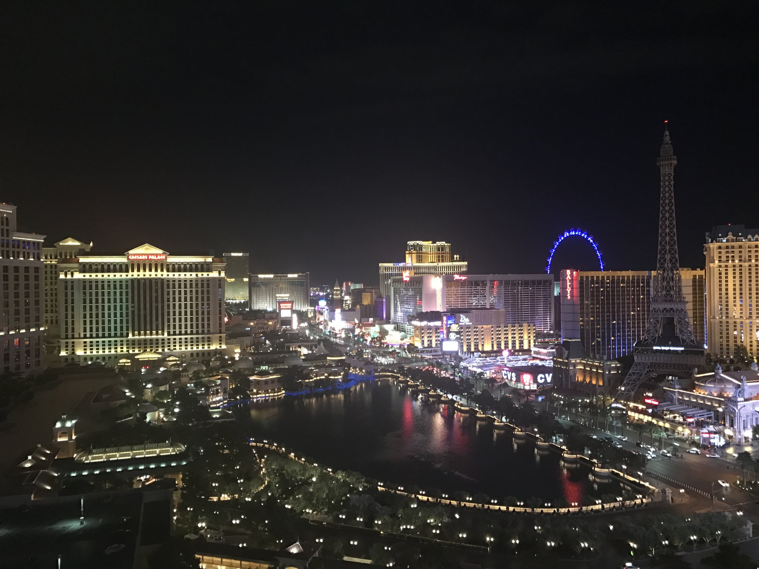 Las Vegas Strip The Upbeat Path