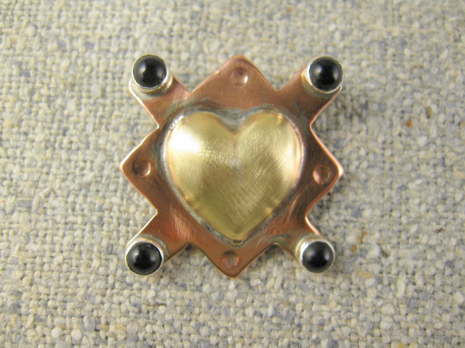 true heart pin