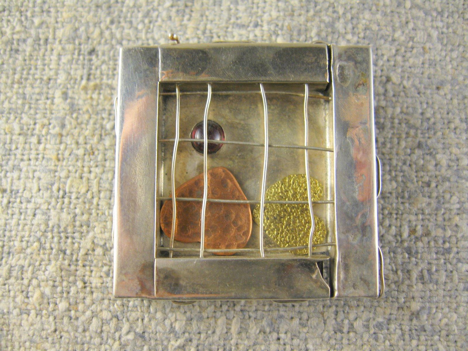 treasured hearts pin