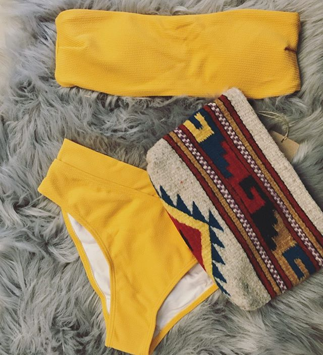 We have a HUGE assortment of new swimsuits! So many styles and sizes available right now ⭐️⭐️⭐️
