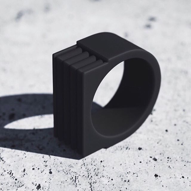The 'Matte Black Ring' PreOrder Now. 👊🏻 #senabling #siliconerings #mensfashion #streetwear #hypebeast