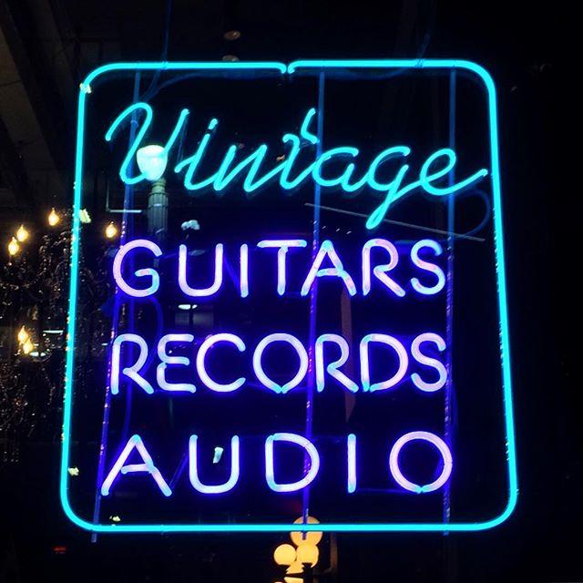 #vintage #guitars #Records #audio #Detroit