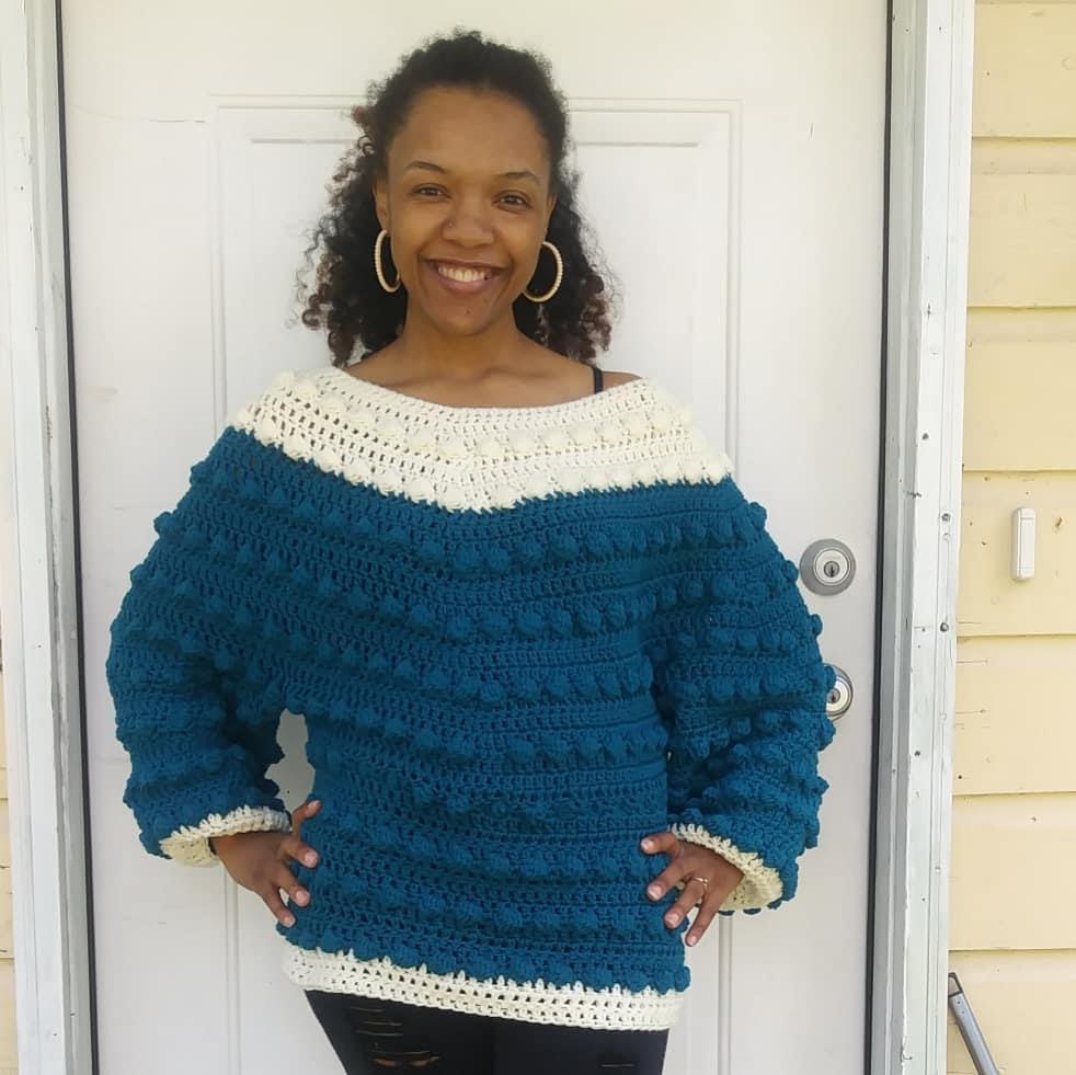 Natasha of @crochaychay_allday