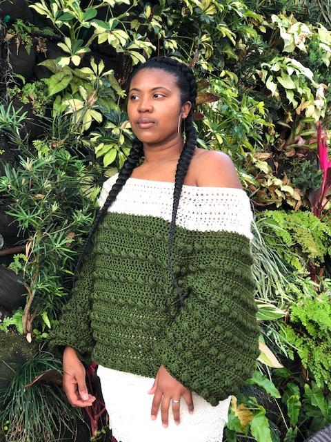 Nkese of @cosmic_crochet_creations