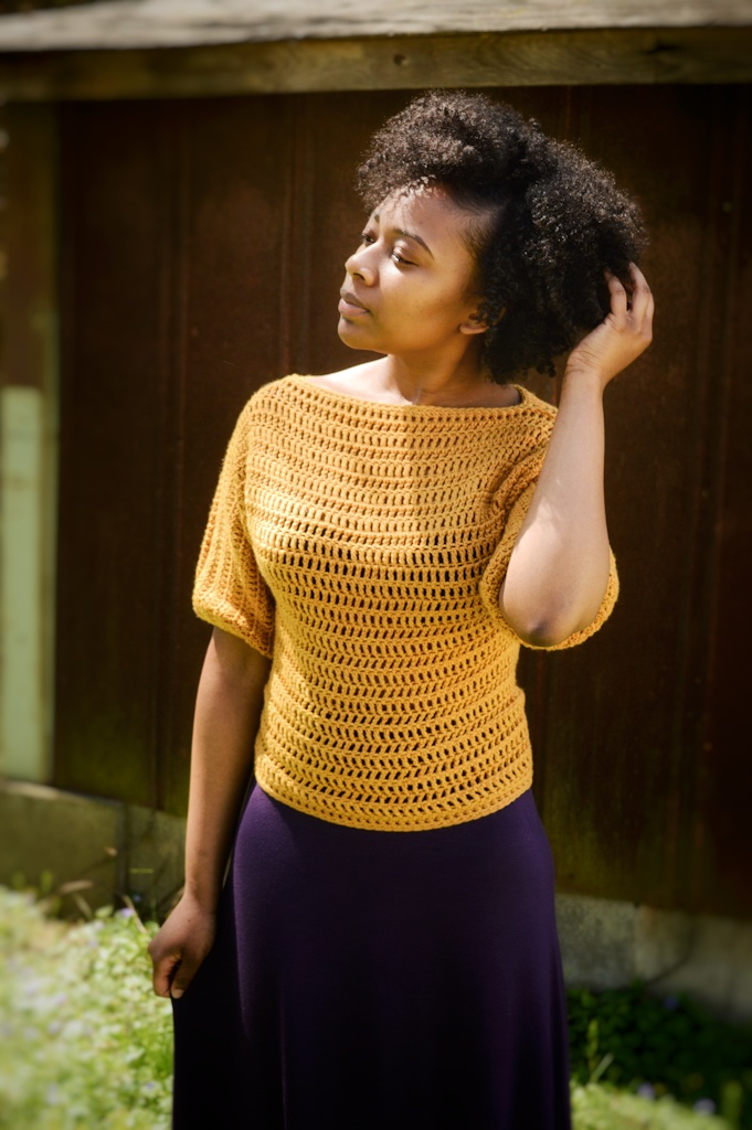 Basic Spring Tee - Crochet Pattern Available