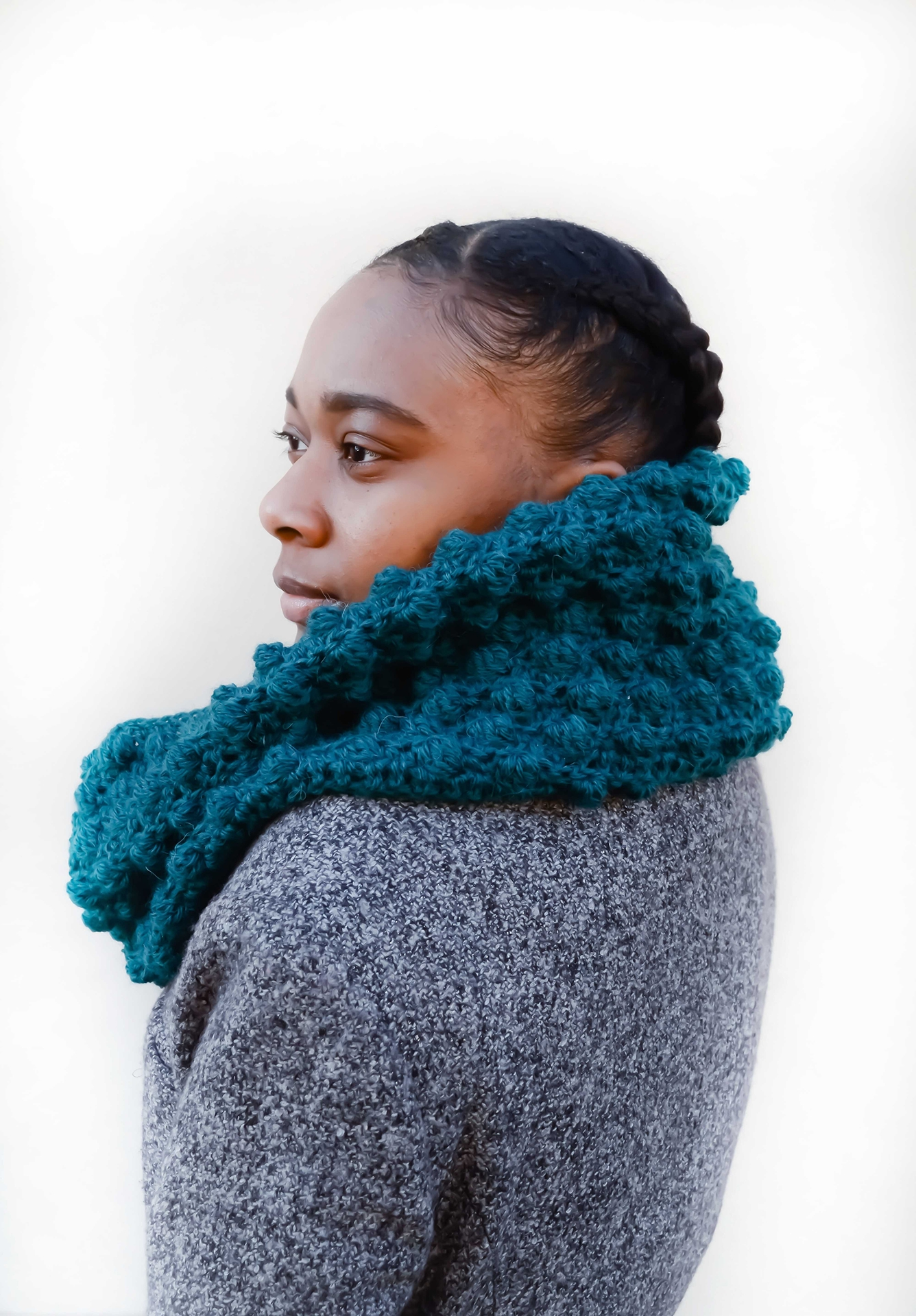 Winterberry Infinity - Crochet Pattern Available