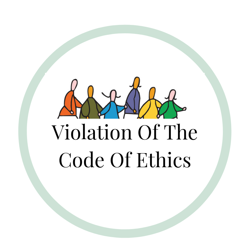 VIOLATION OF THE CODE OF ETHICS.png