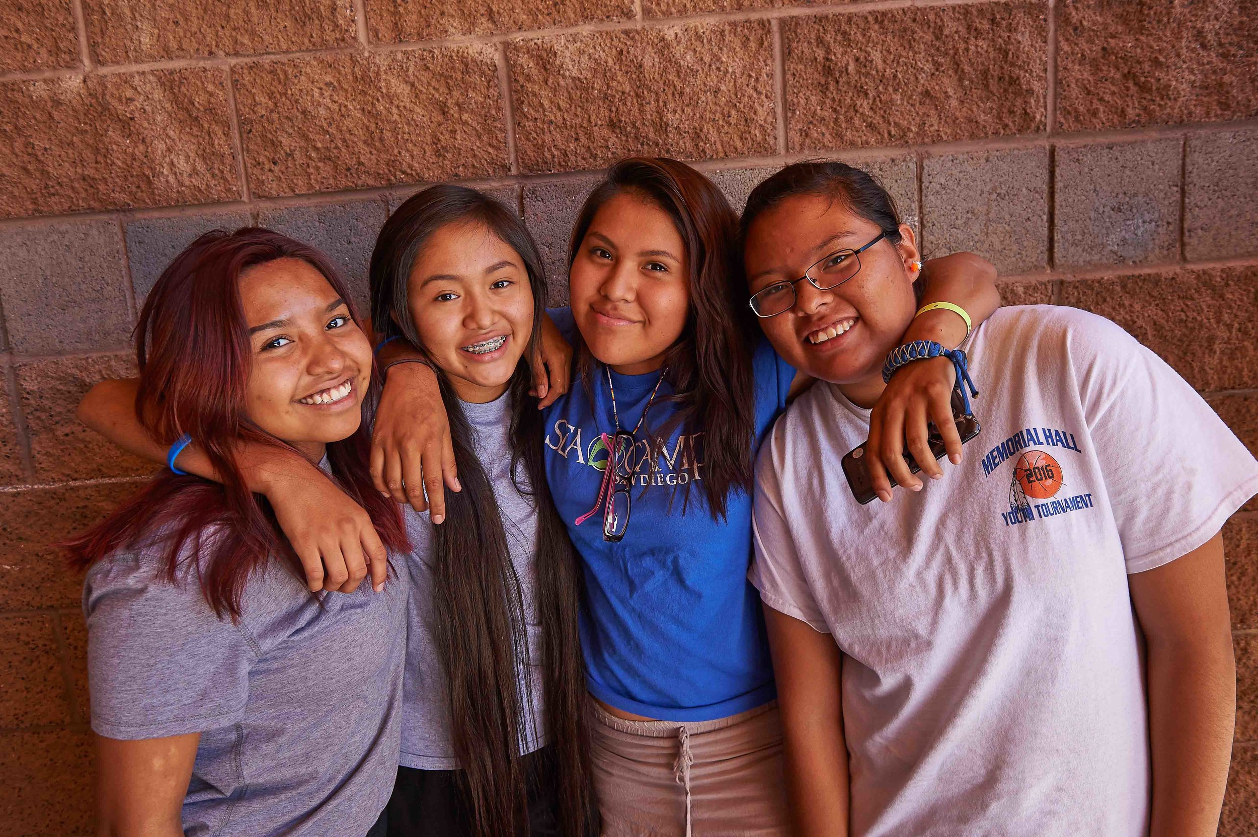 2016 adolescent health program particpants White River AZ:Fort Apache photo by Ed Cunicelli .jpg