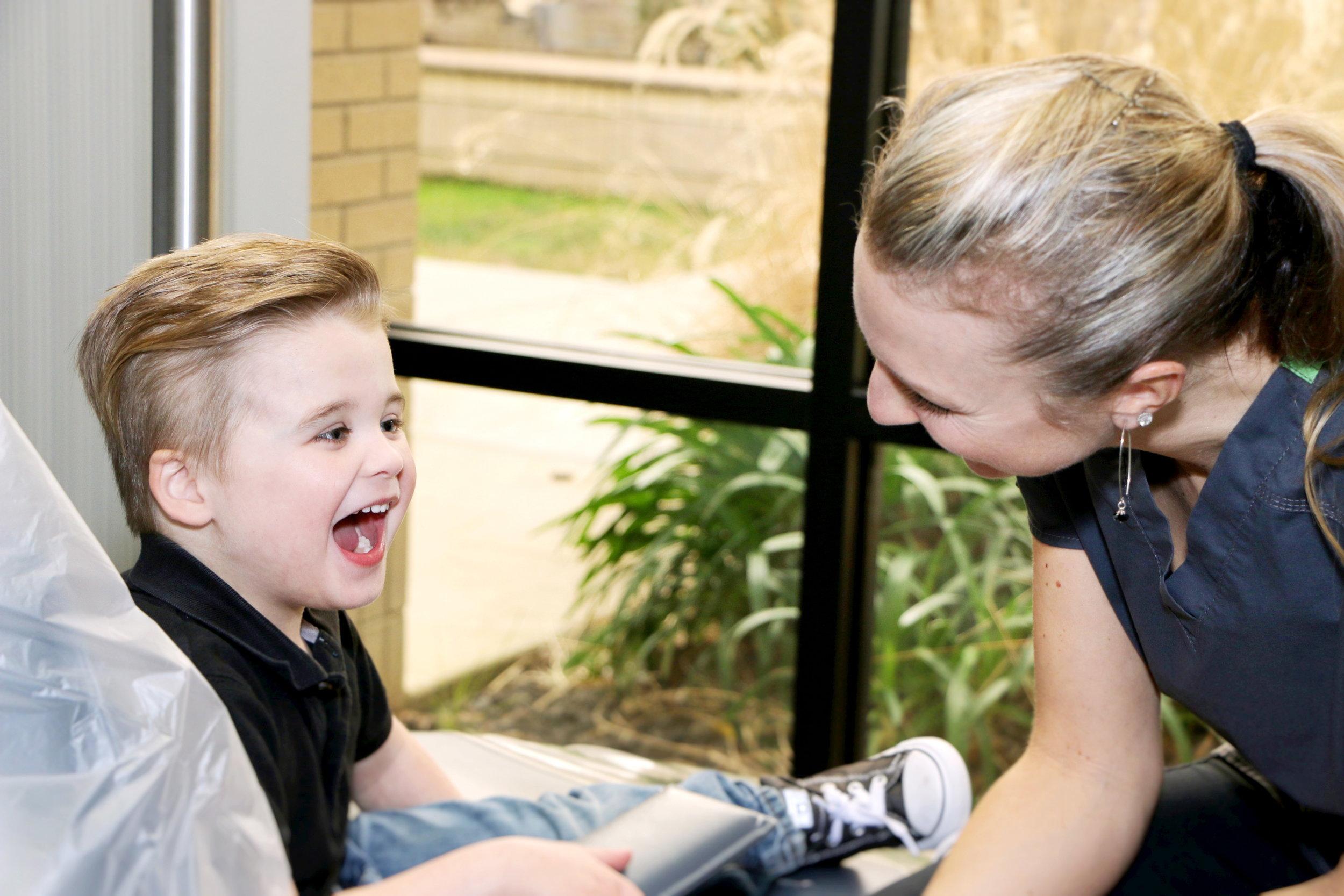 Pediatric dental care