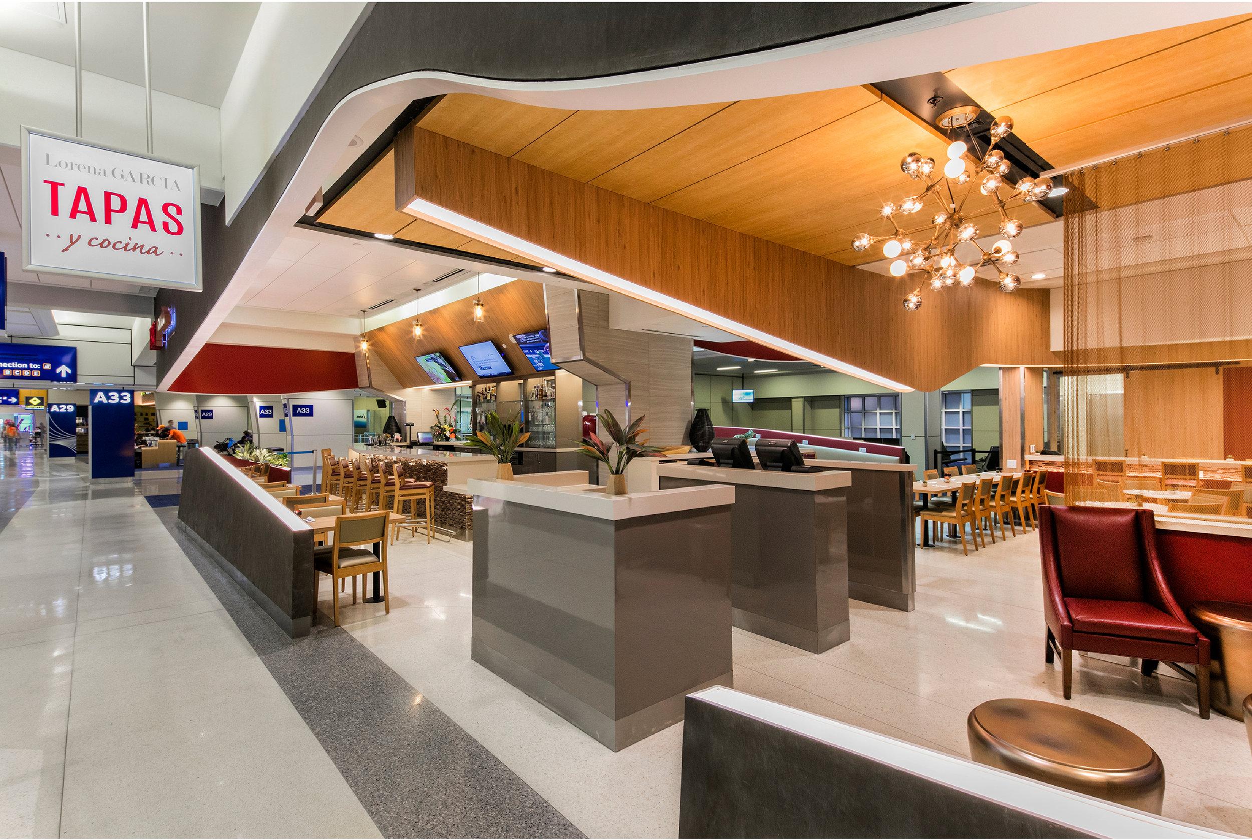 Lorena Garcia Tapas y Cocina    DFW Airport Gate A33.     MENU
