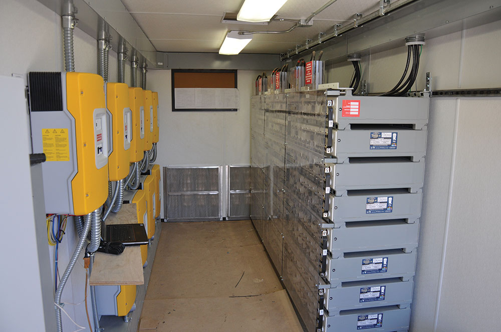 Smart grid battery storage systems