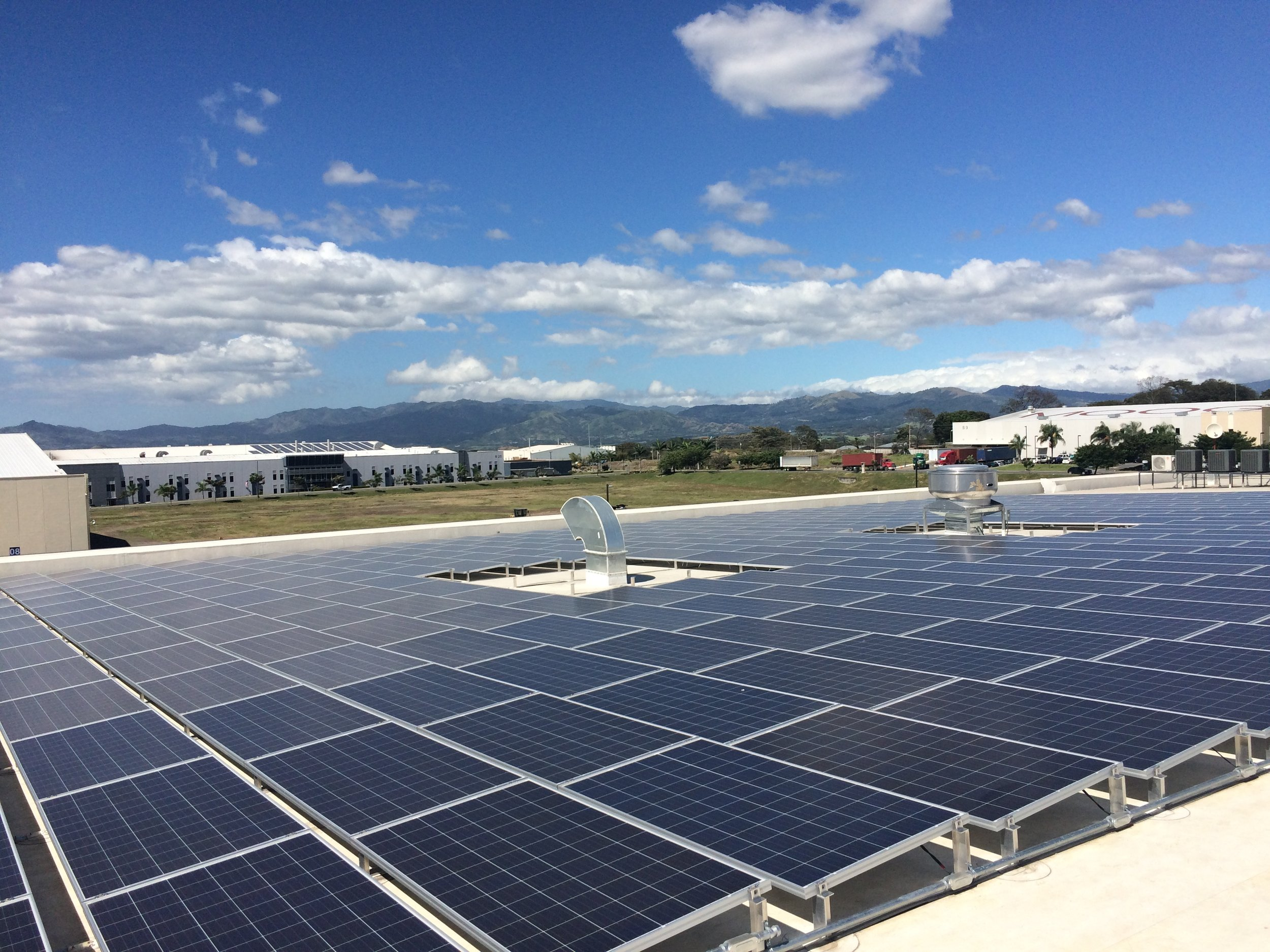 Rio Grande Renewables Completes Solar+Storage Microgrid in Costa Rica - December 6, 2016 - Albuquerque-based Rio Grande Renewables has completed what is being called the largest micro-grid in Central America, a 276kW solar plus 500kW/1MWh energy storage system.