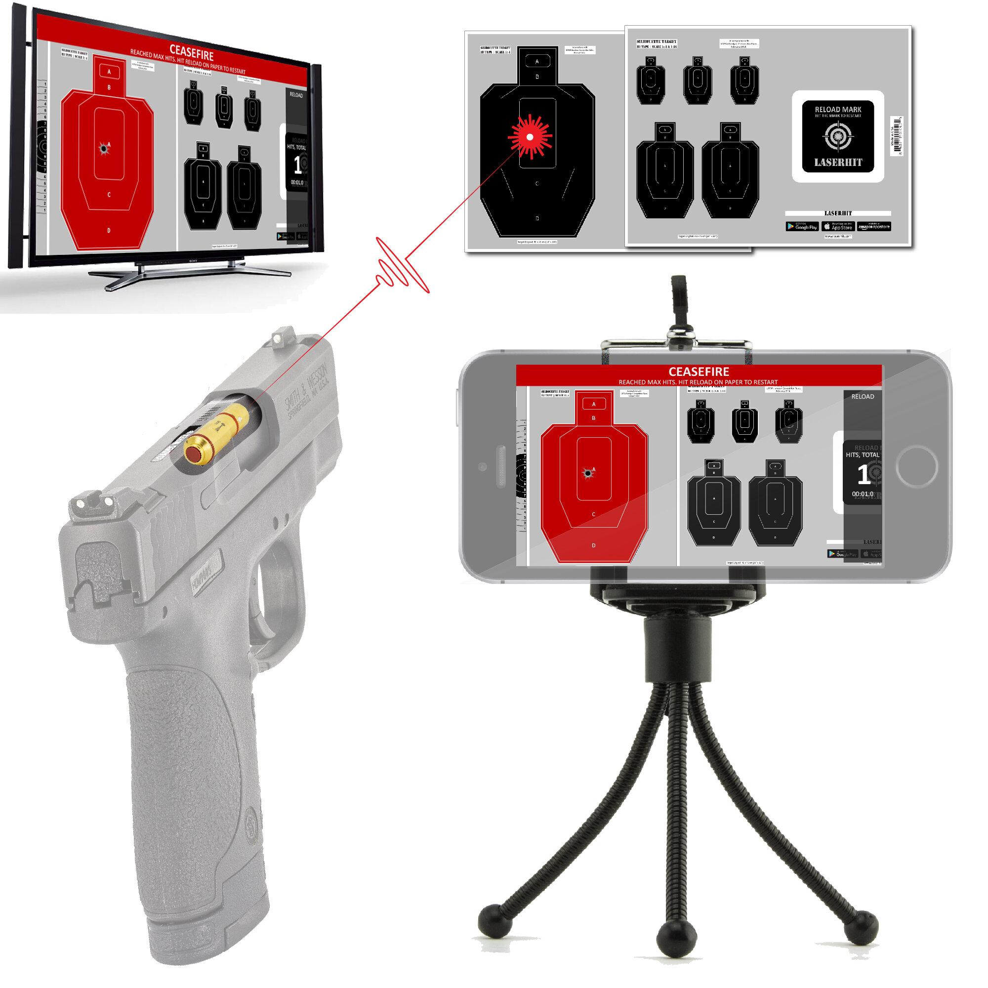 Laserhit Modern Firearm Training At Home