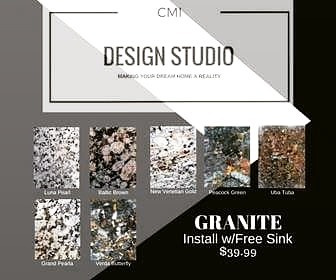 Check out our latest #granite special, stop by and take look.