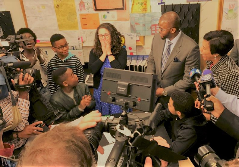 3. Surprise Announcements - Selection panel teams will review applications, narrow down finalists, and conduct school visits and interviews throughout November and December. In January 2018, DC Ed Fund and DCPS will make the surprise announcements for each of the eight Excellence Award winners.