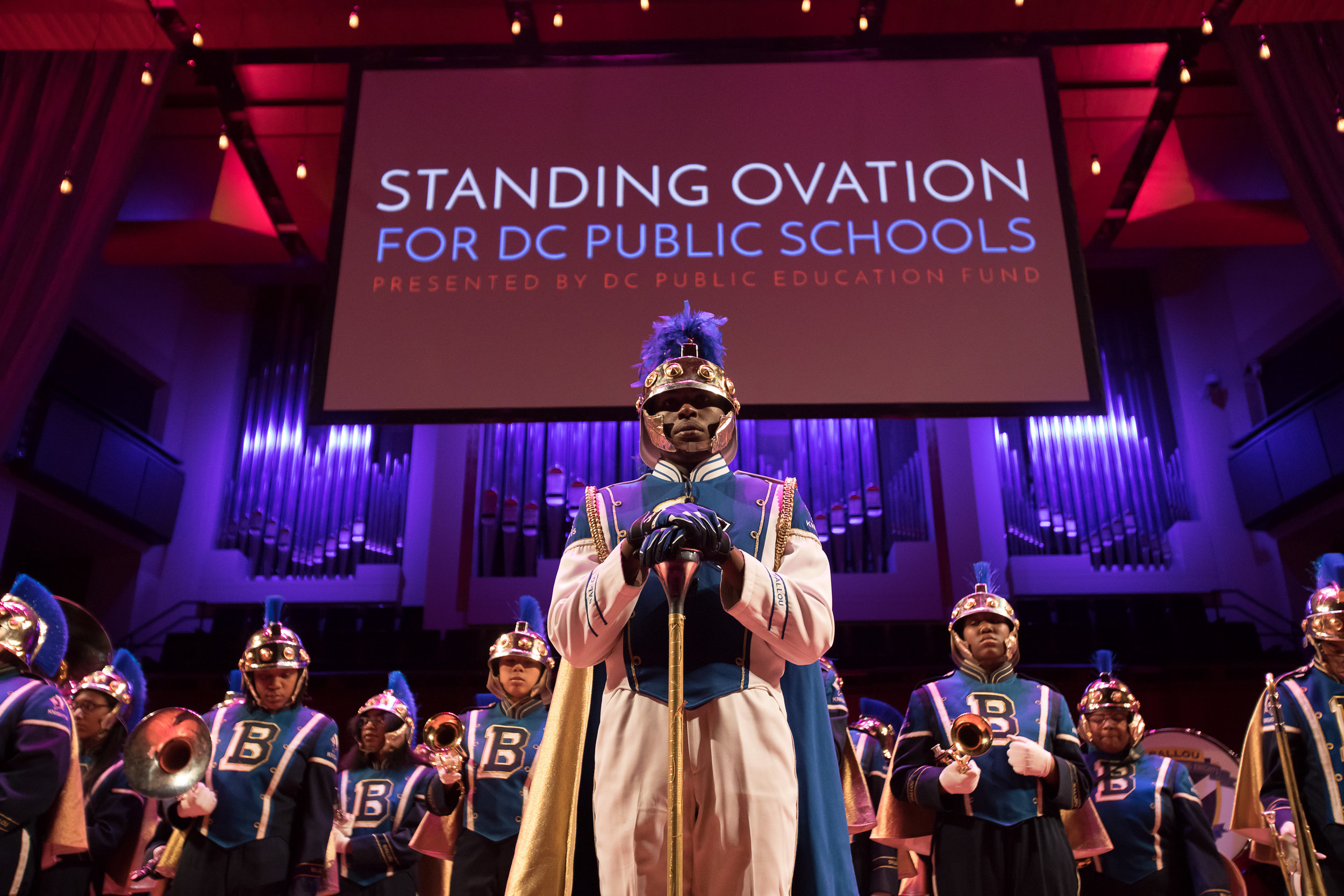 4. Celebrate at Standing Ovation! - At Standing Ovation 2018, the entire DC community will come together to celebrate the incredible teachers, school staff, leaders, and school communities at DCPS. Eight Excellence Award winners and 21 Rubenstein Award winners will be honored with cash prizes totaling $230,000 thanks to the generosity of Alice and David M. Rubenstein. Stay tuned for more information!