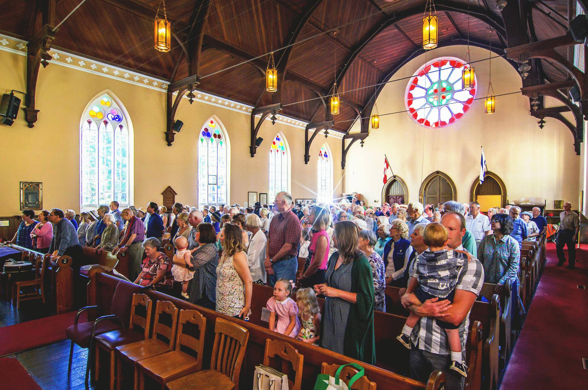 In the Church -