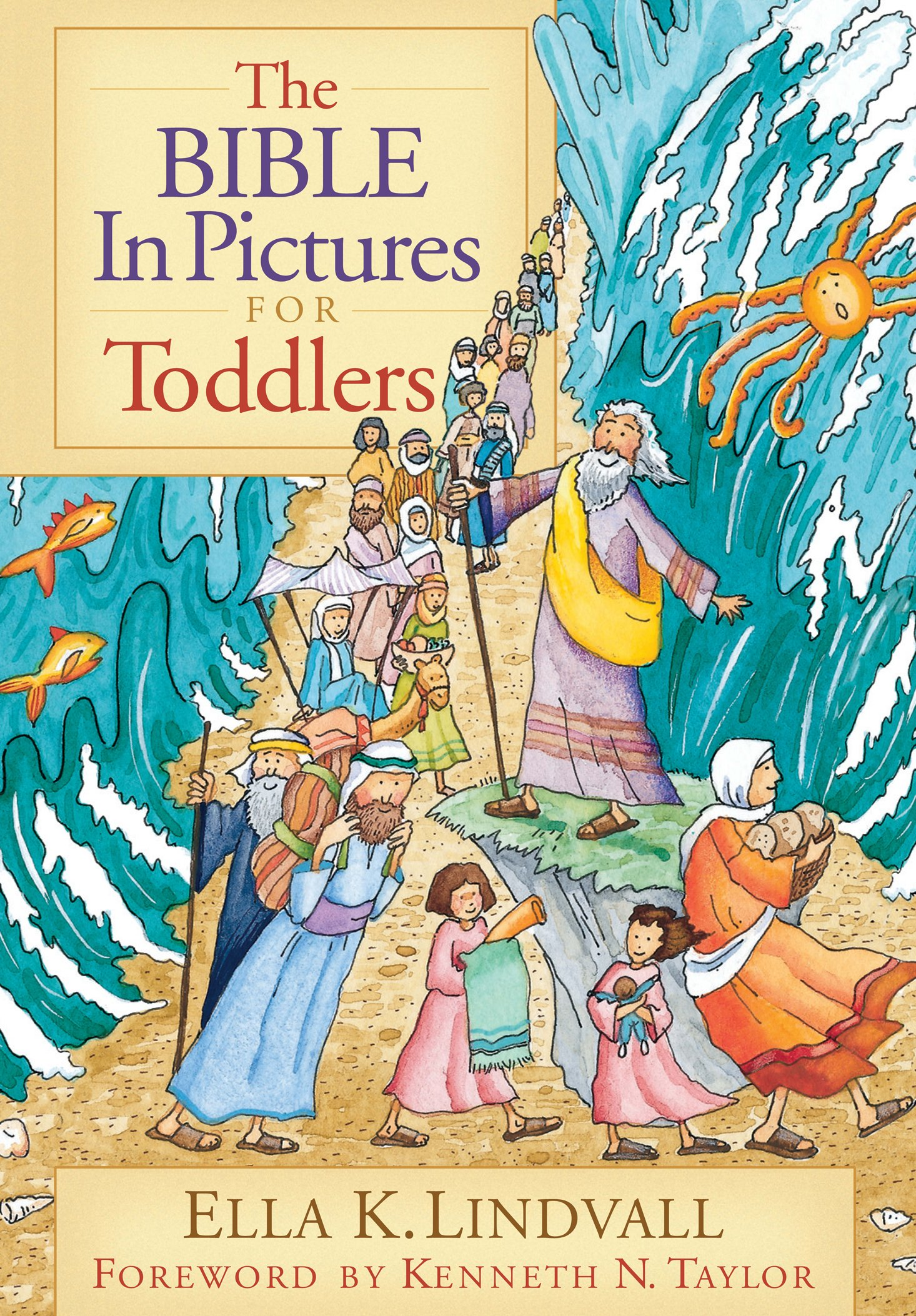 The Bible in Pictures for Toddlers - Ella K. LindvallAges 1-4Seventy of the most loved stories from both the Old and New Testaments are retold in an entertaining and expressive manner.