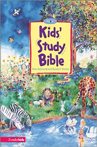NIrV Kid's Study Bible - Joel TanisAges 6+Written at a third grade reading level, the NIrV translation uses simple, short words and sentences that are easy for kids ages 6-10 to understand.