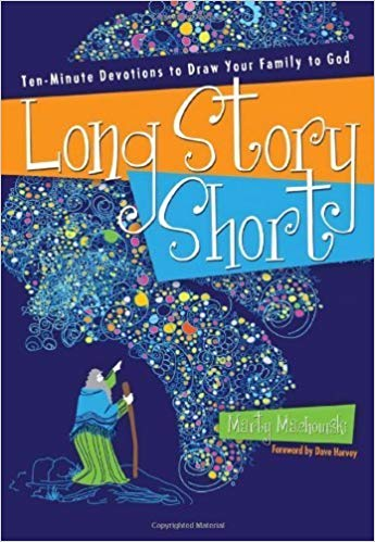 Long Story Short - – by Marty MackowskiThe Bible can seem like a long story for an active family to read, but when you break it down into short sections, as Marty Machowski does, family devotions are easy to do. Long Story Short will help busy parents share with their children how every story in the Old Testament points forward to Gods story of salvation through Jesus Christ.