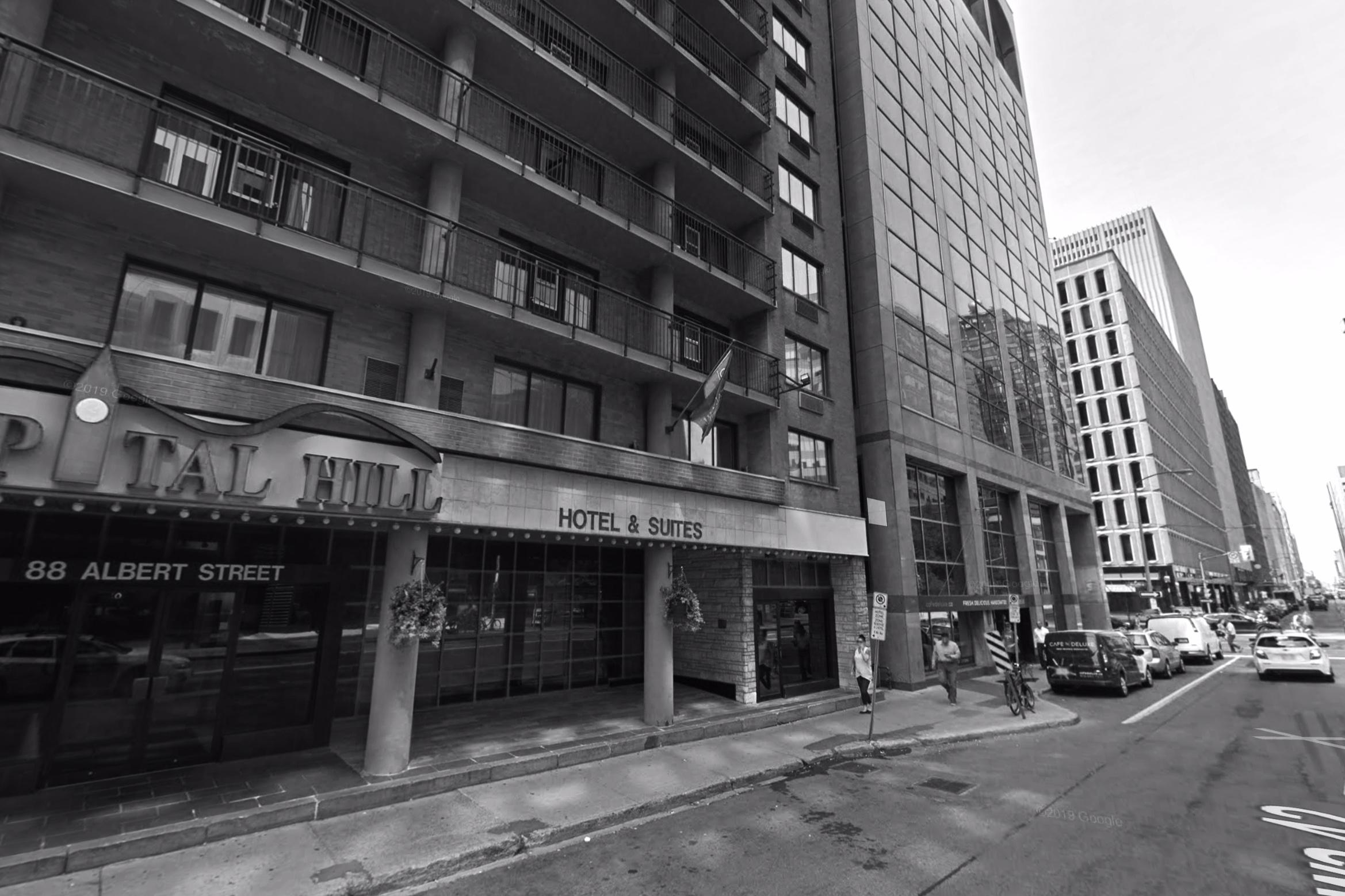 Capital Hill Hotel & Suites - 88 Albert Street, Ottawa