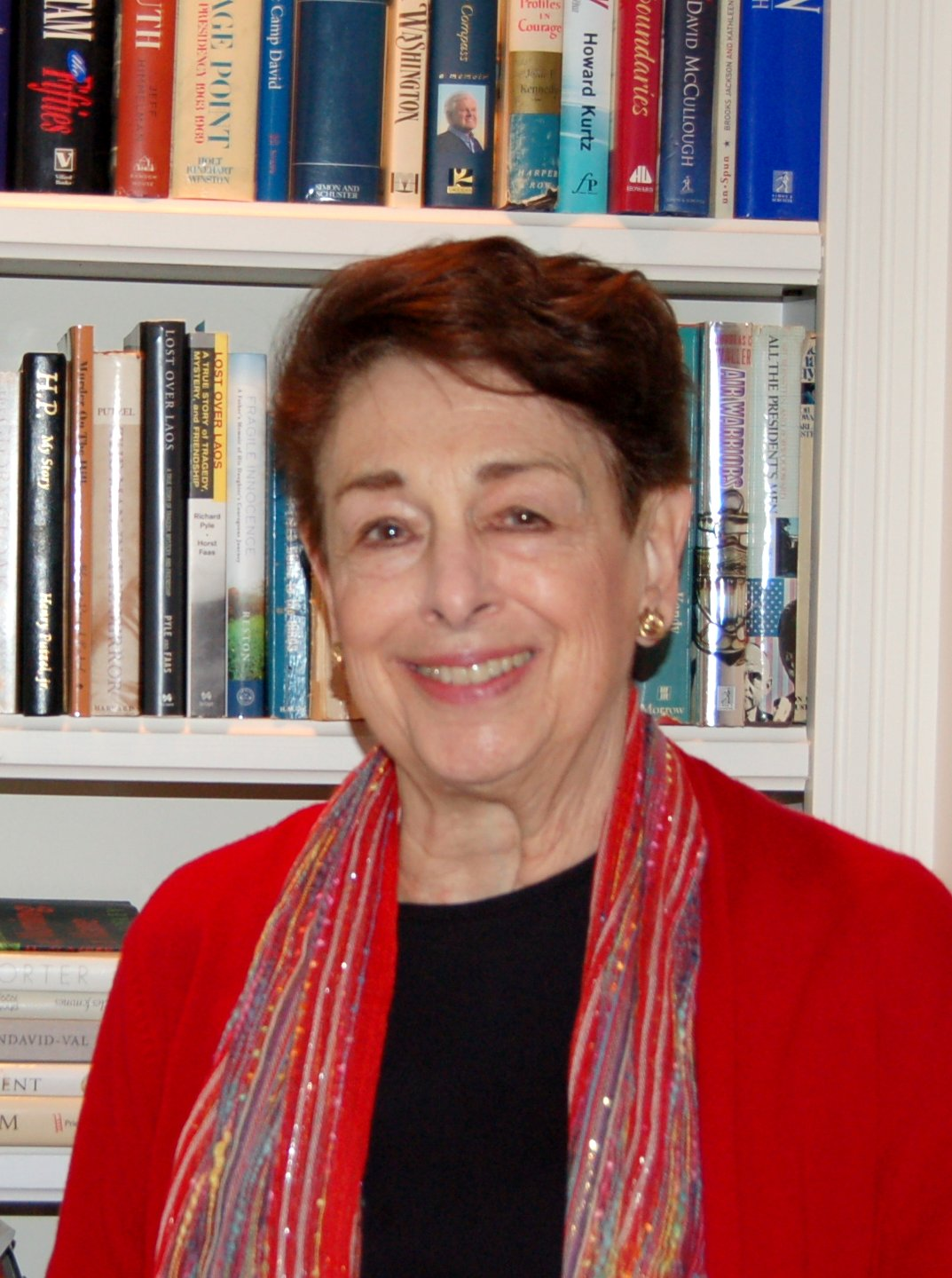 Marian Burros, 2017 recipient of the Carol DeMasters Award for service to food journalism