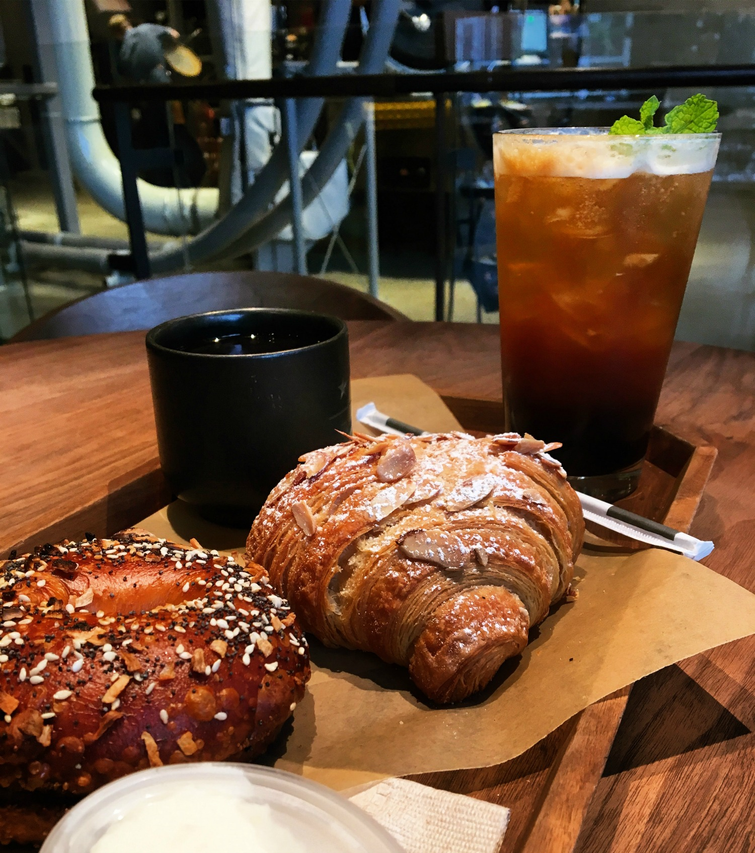 Breakfast at Starbucks Reserve Roastery and Tasting Room. Photo by Jessica Vaughn.