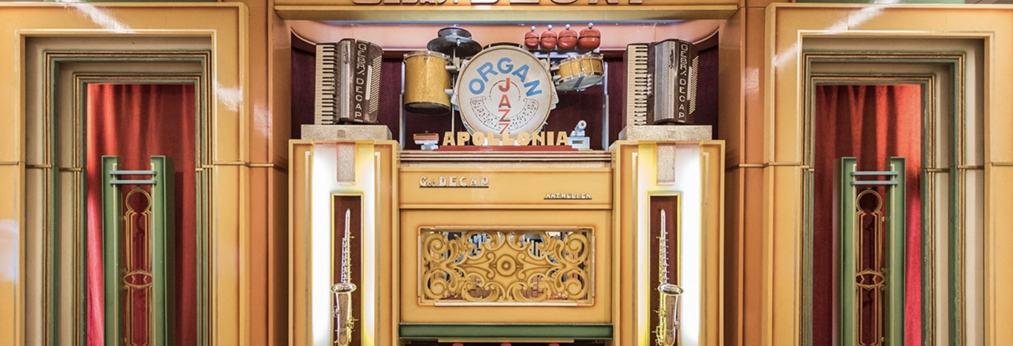 A jazz organ at the Musical Instrument Museum, just one of the highlights in this collection of global instruments. Photo courtesy Musical Instrument Museum.