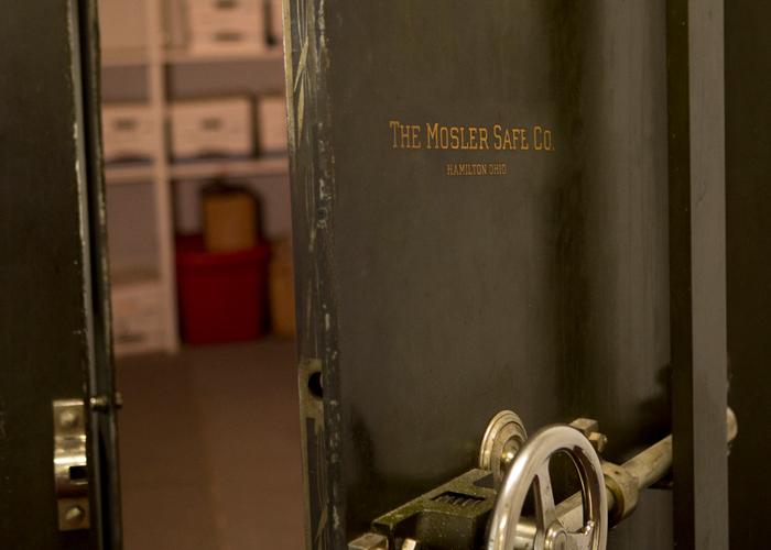 Florida Skincare Testing 100-year-old vault.