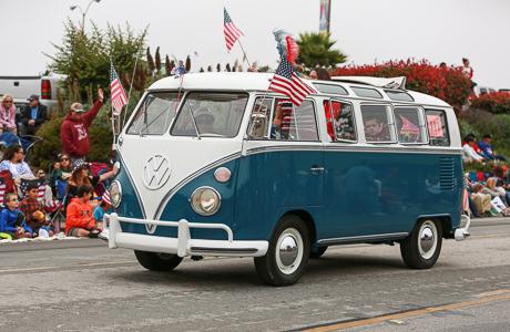Aptos, CA 4th of July Parade