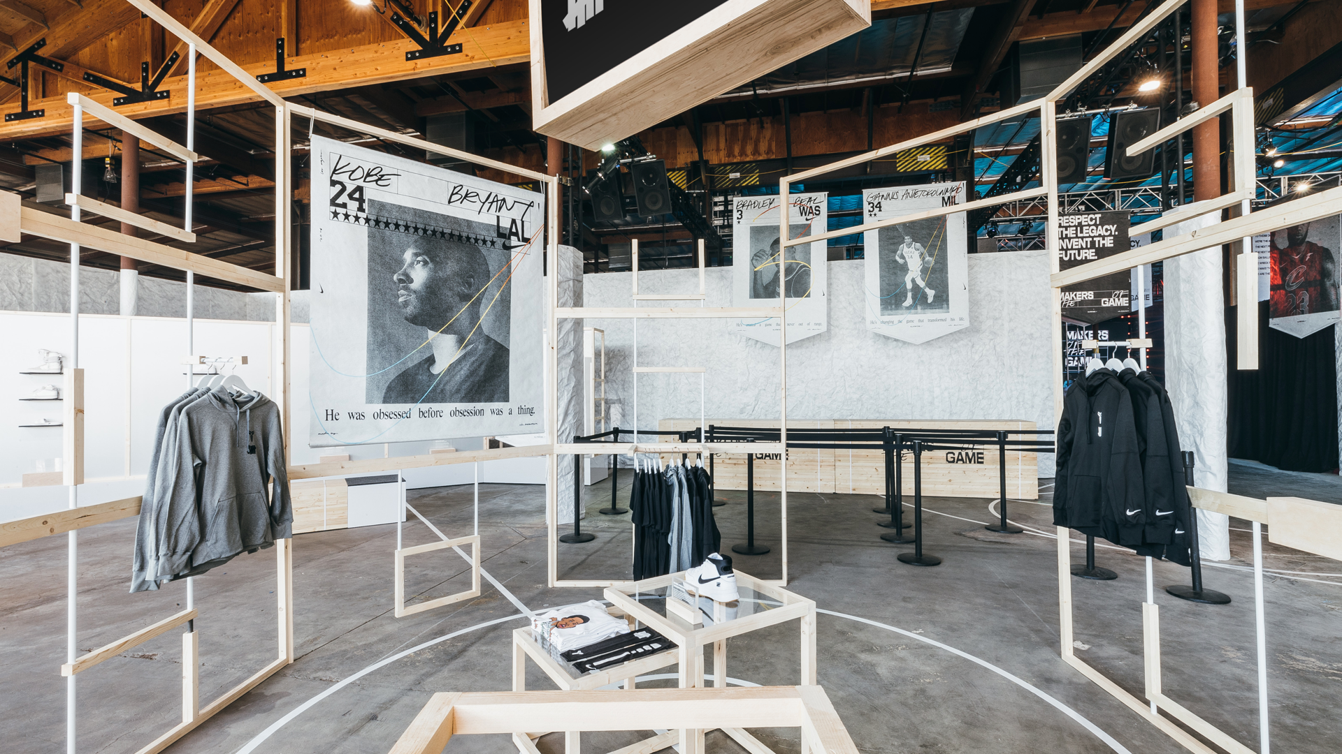 MAKERS HQ - NIKE BASKETBALL - Strategic Planning, Experiential Ideation & Programming, Brand Space Curation, Talent Management, Content, Retail Operations