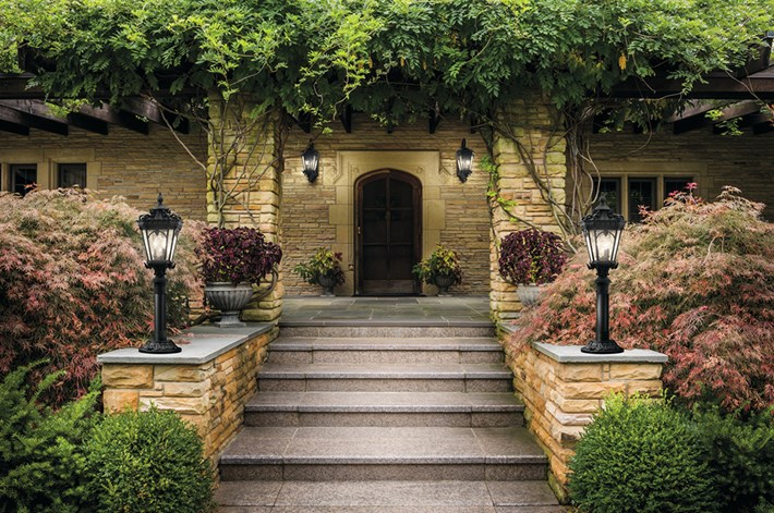 Hardscape dealer and path lighting services in Harrisburg Dauphin County PA