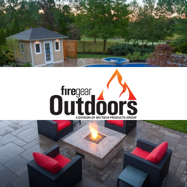 Professional FireGear Outdoors fire feature design in Harrisburg Dauphin County PA