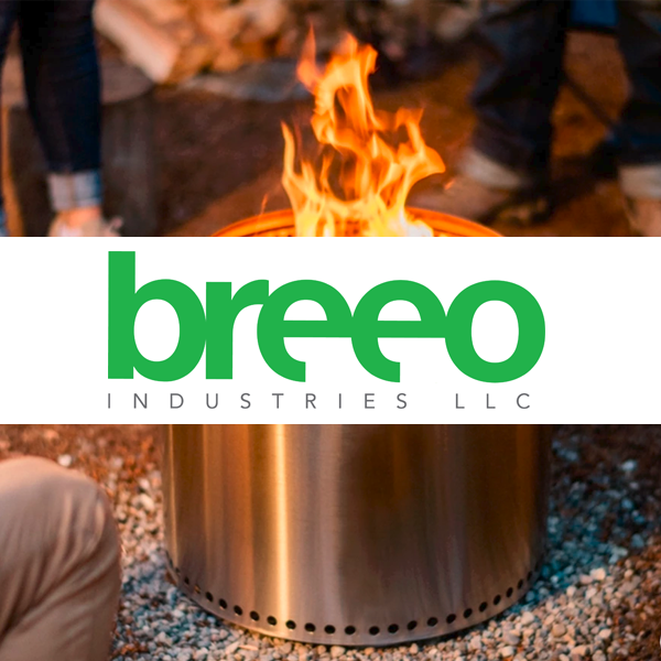 Professional Breeo Industries fire feature design in Harrisburg Dauphin County PA