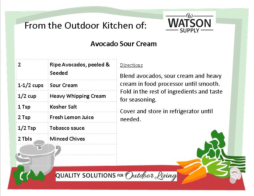 Avocado Sour Cream