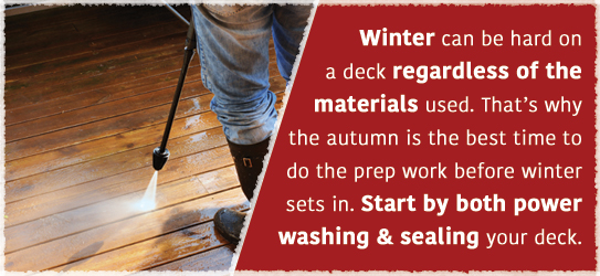prep your deck for winter