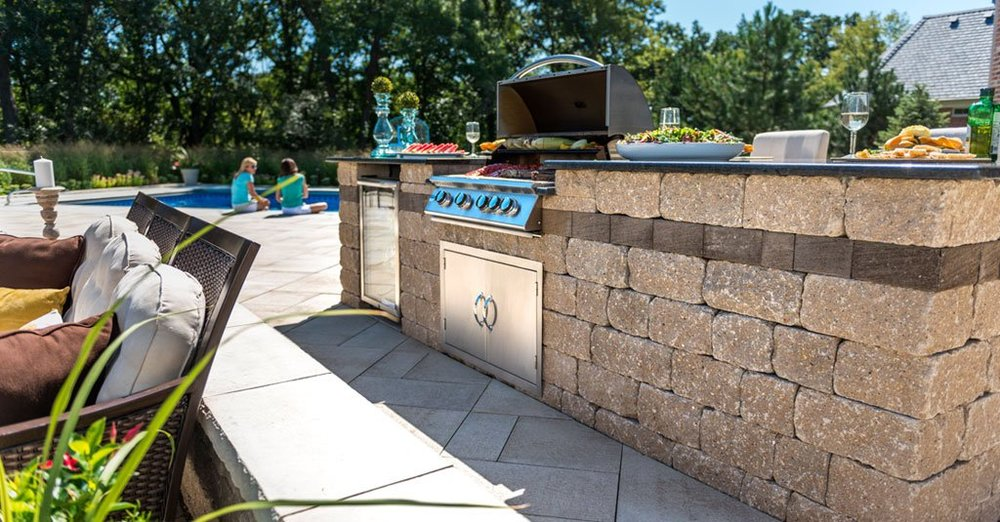 Ideal Outdoor Kitchen Building Products