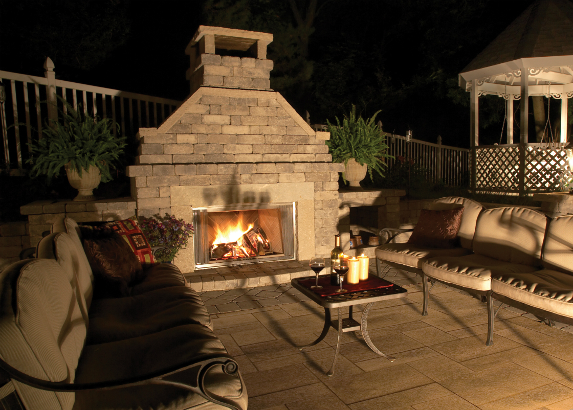 3 Great Unilock Wall Units for Fireplace Designs in State College, PA