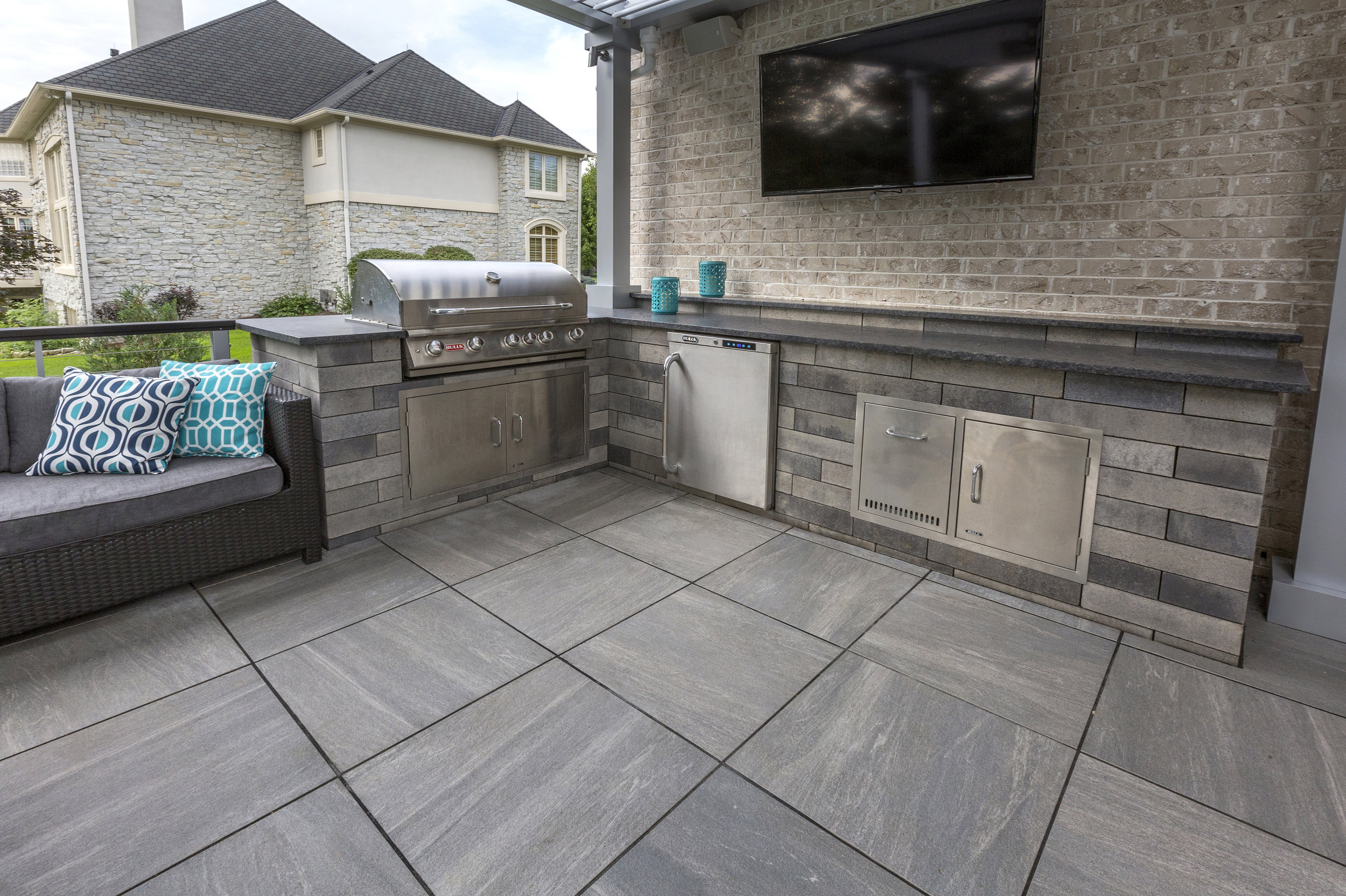 Enhance Your Patio Design with Porcelain Tiles from Our Stone Supply in Harrisburg, PA