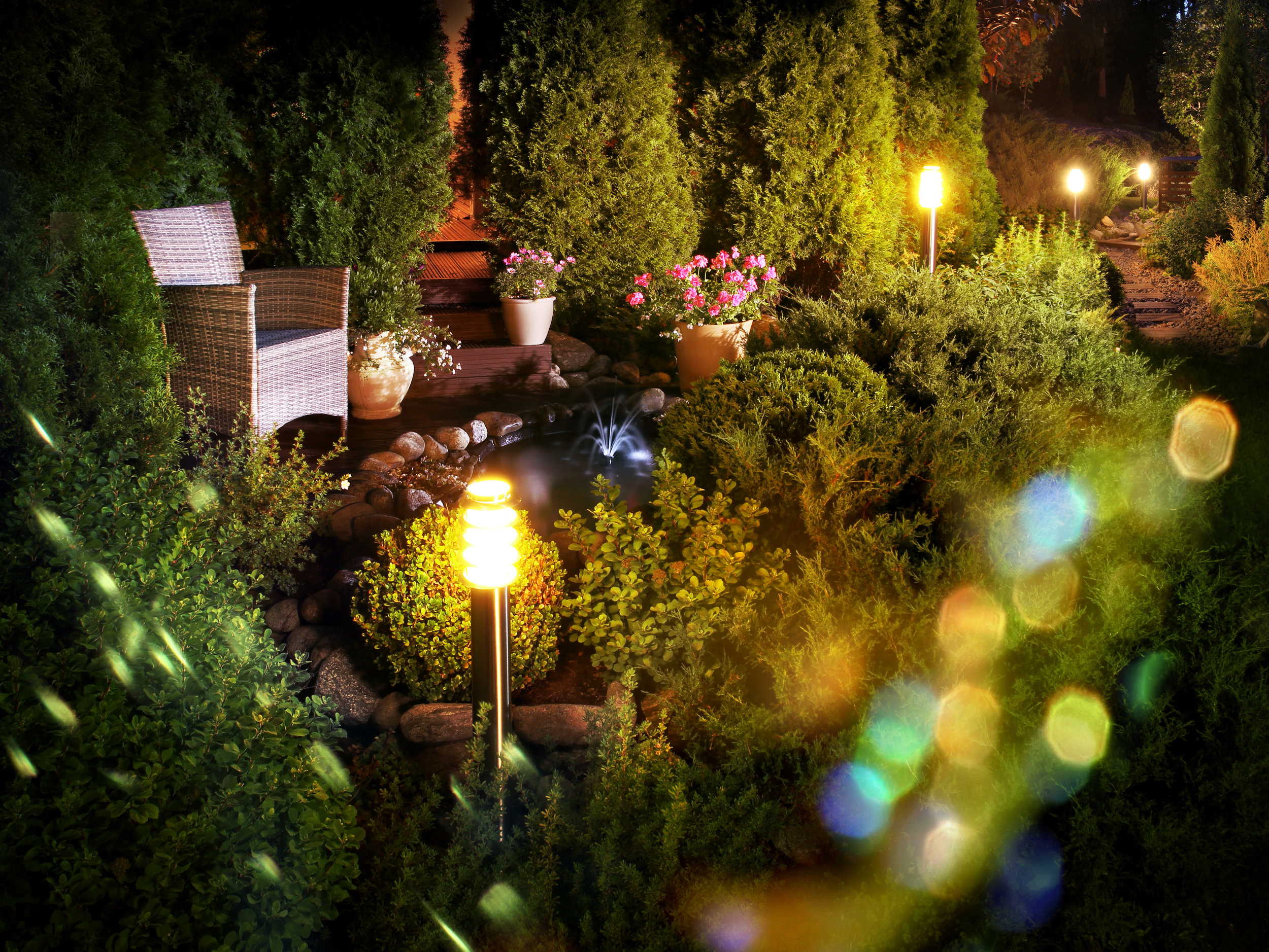 Improve Your Landscape Project with Beautiful Path Lighting from Our Garden Supply Store in the York, PA, Area