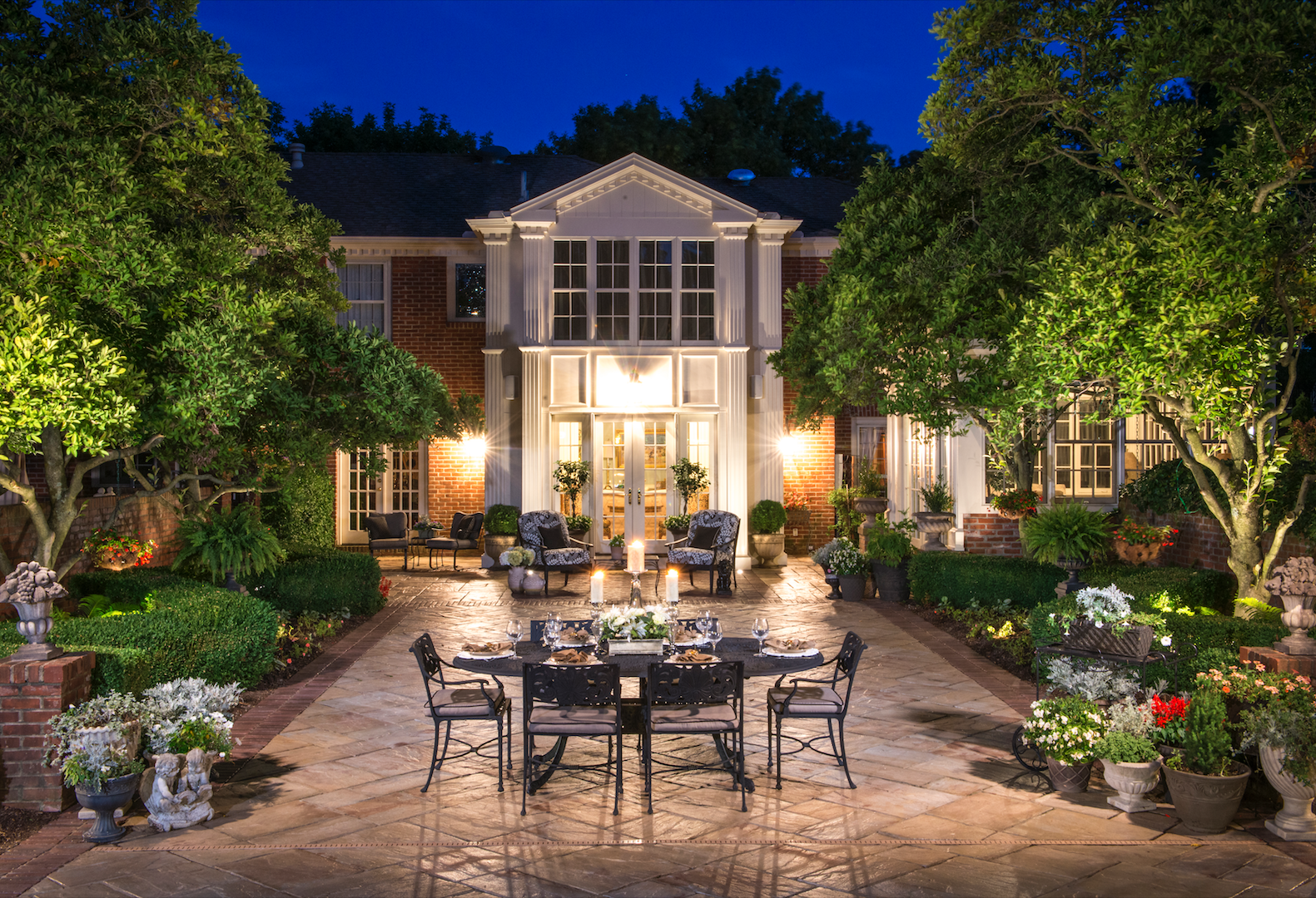 Improve Your Client's Night Time Outdoor Living Experience with Accent Lights in York, PA