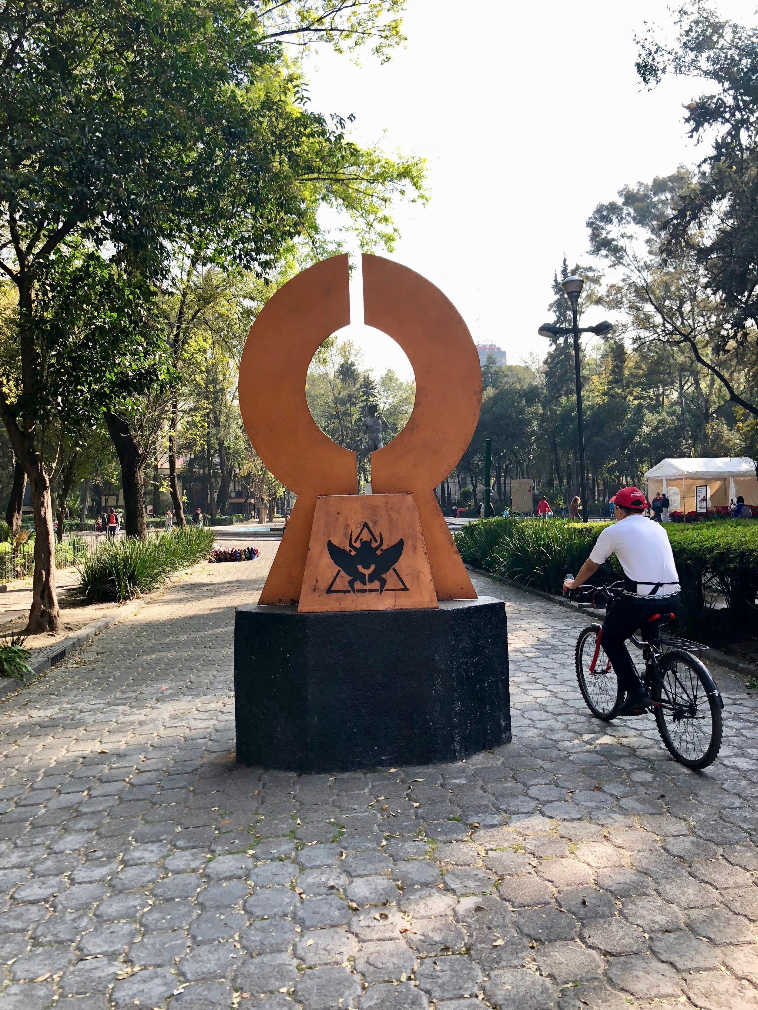 Portal / Plaza Rio de Janeiro, Mexico City / ©2017 Melody Jean Moulton